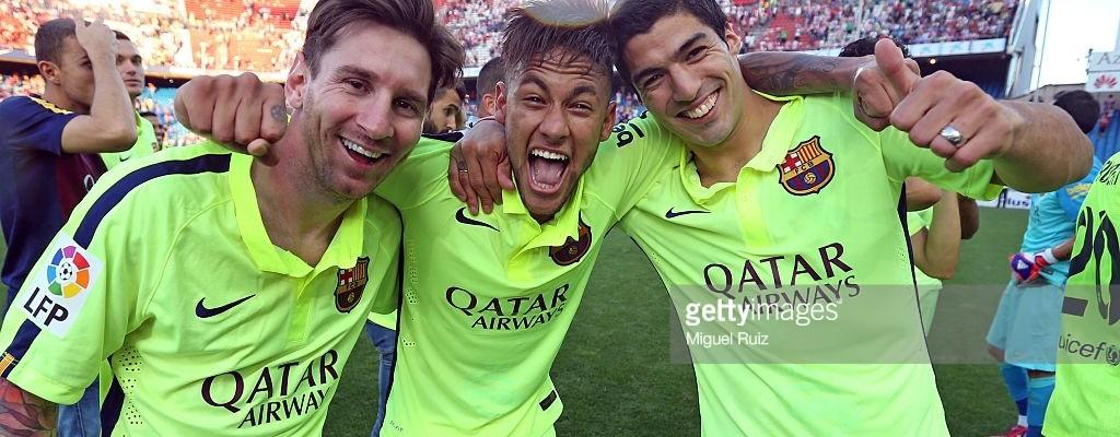 Messi, Neymar und Suarez
