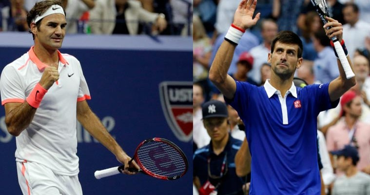 djokovic federer us open 2019